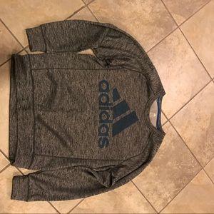 Adidas thermal sweatshirt
